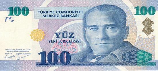 Турецкая лира - сувенир на память