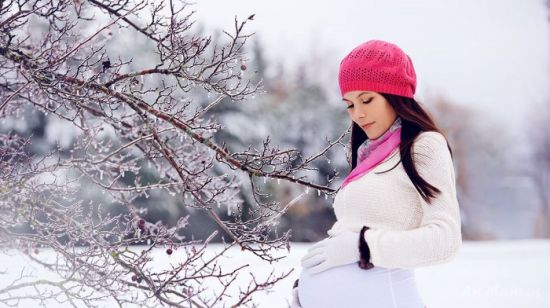 Зимняя техника безопасности для беременных