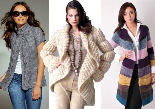 Модные вязанные вещи