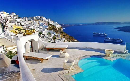 Греческий остров - Санторини