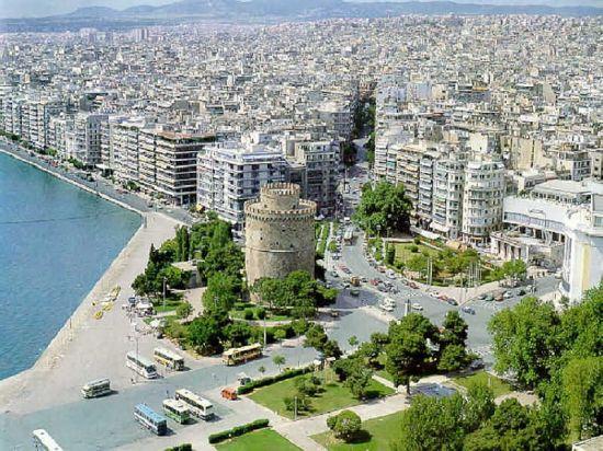 Салоники — материковый рай в Греции