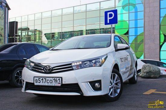 Тест драйв Toyota Corolla 2014