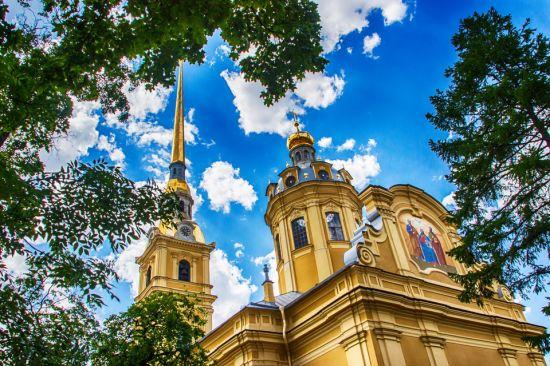 Красота и роскошь храмов: Убранство Петропавловского собора