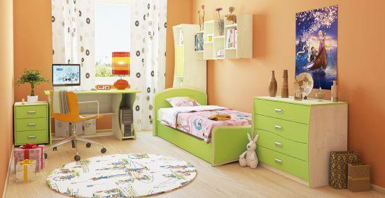Как обустроить детскую комнатку