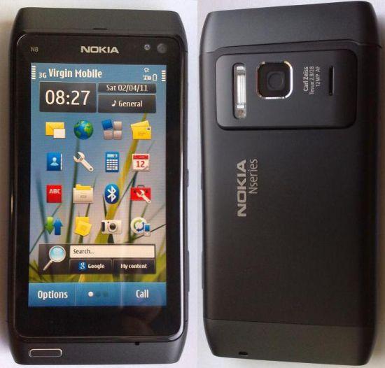 Преимущества Nokia N8