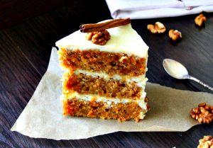 Торт домашний орехово-морковный и рецепт его приготовления