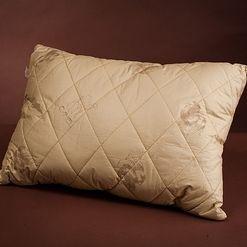 Как делают подушки из верблюжьей шерсти