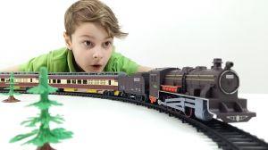 Железная дорога для мальчиков