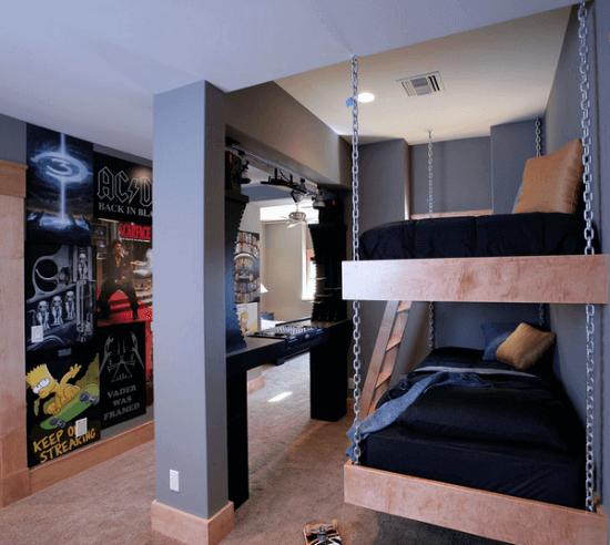 Спальня для подростка мальчика