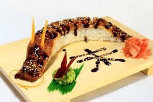 Суши-Дракон - история и основные ингредиенты