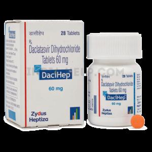 Dacihep – продажа препарата Даклатасвира, правила его приема