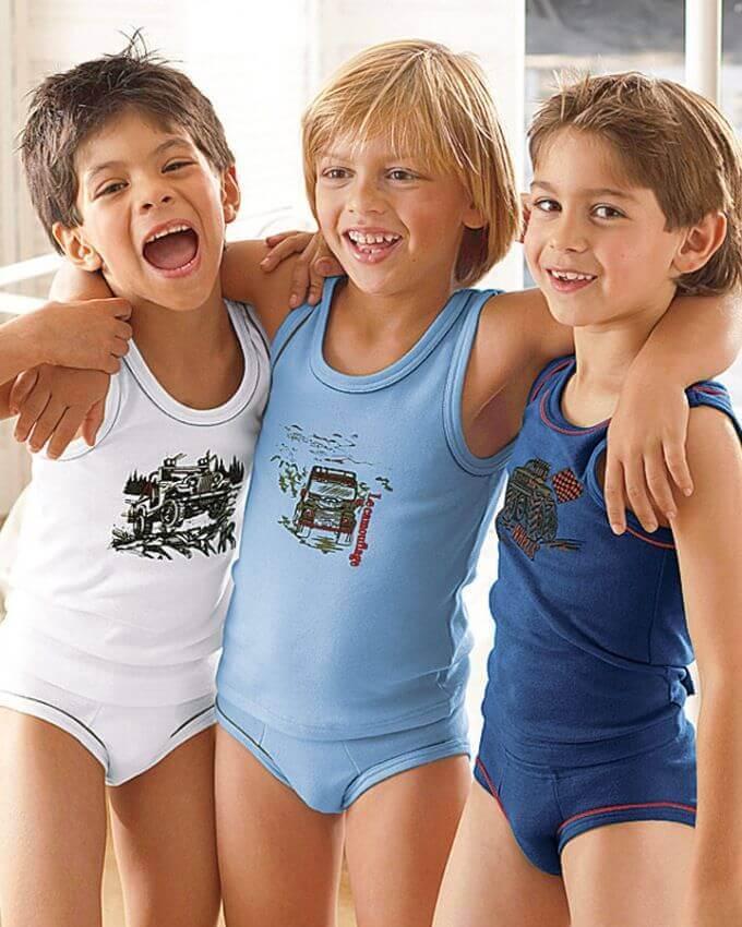 Детское нижнее белье для мальчиков — неотъемлемая часть гардероба ребенка