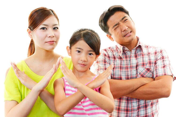 Родительские запреты в воспитании детей