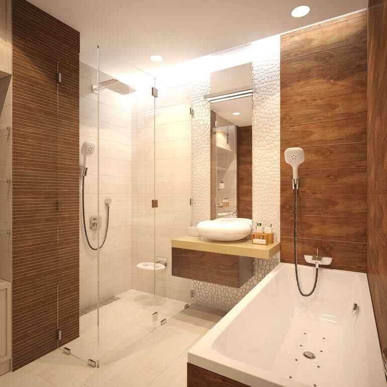 Элементы дерева в вашей ванной