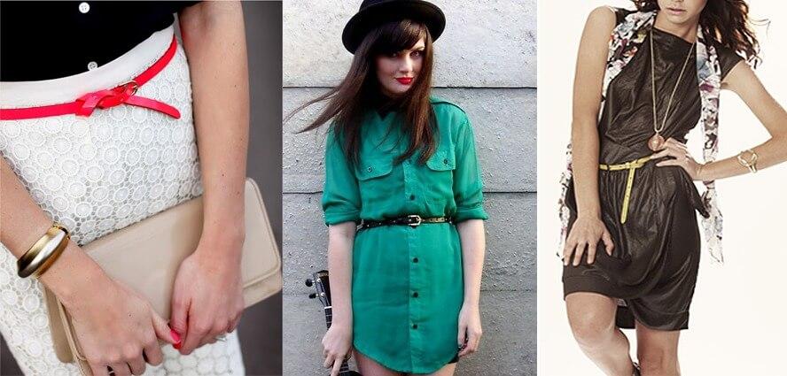 Модные женские ремни