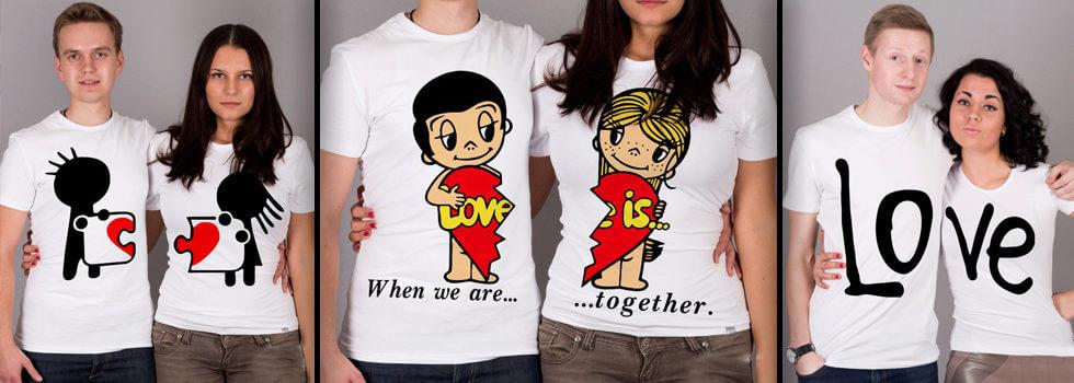 Парные футболки для двоих: идеальный подарок для влюбленных