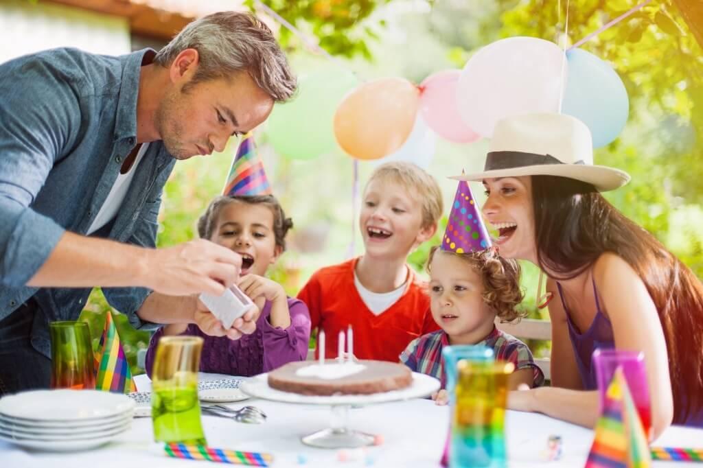Развлечения на детском дне рождении