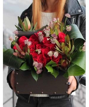 Наш салон доставки цветов одобряется многими представителями сильного пола