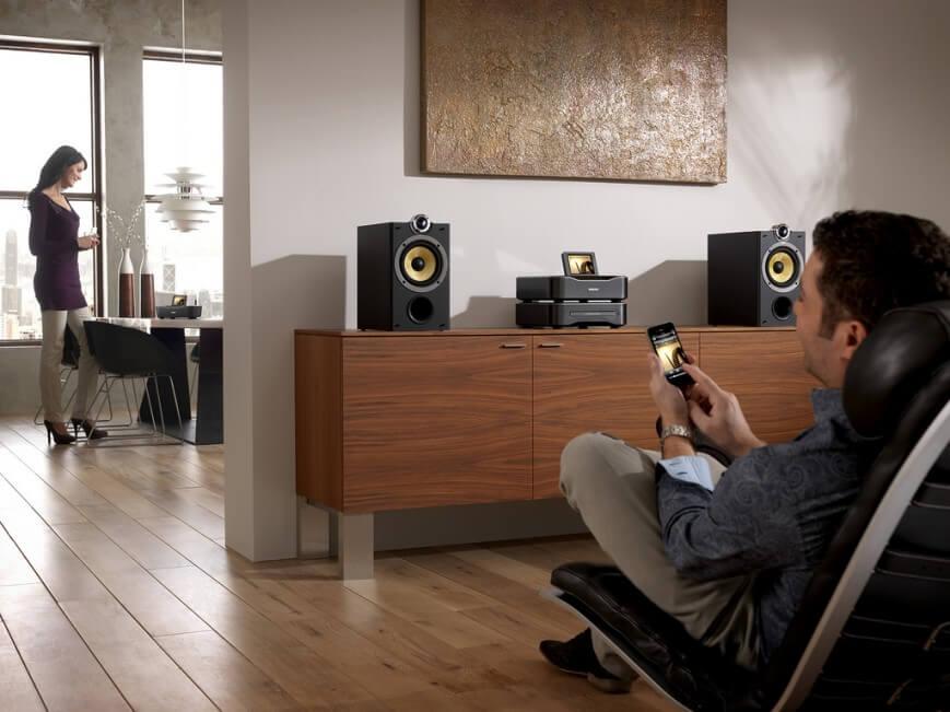 Распределяем звук по комнатам