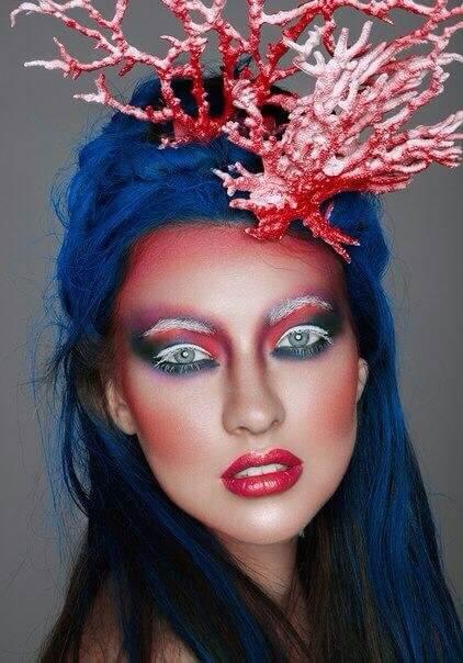 Фантазийный макияж - где взять вдохновение?