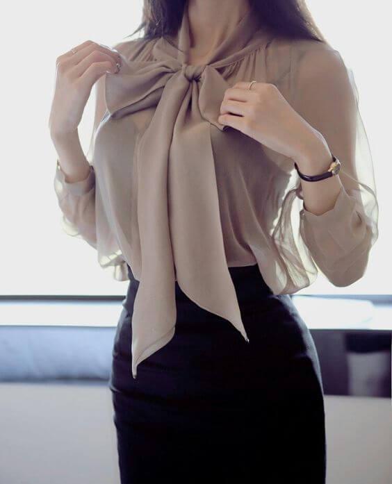 Из чего состоит стиль бизнес-леди?