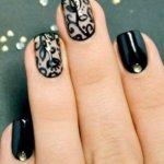 Вечерний маникюр: лучшие идеи дизайна ногтей