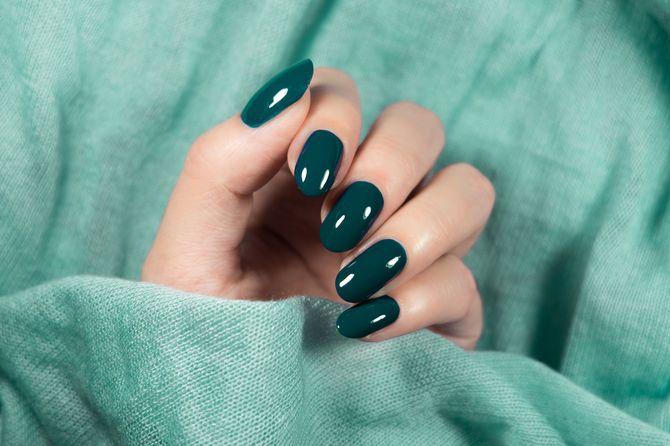 Зеленые ногти