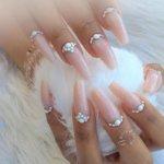 Ногти формы «балерина» - создаем самый модный тренд 2019 года
