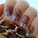 Стильные идеи маникюра в коричневых тонах – модные оттенки, сочетания цветов