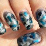 Гель-лак камуфляж – дизайн ногтей в стиле военной формы и база для натуральных ногтей